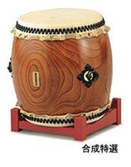 【受注生産品】【送料無料】 SUZUKI 《スズキ》 長胴太鼓 合成特選 1尺8寸(54cm)
