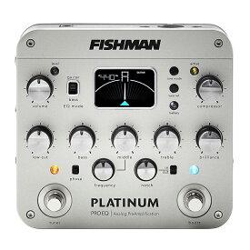 【送料無料】Fishman フィッシュマン Platinum Pro EQ/DI Analog Preamp アコースティックギター用DI/プリアンプ