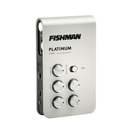 【送料無料】Fishman フィッシュマン Platinum Stage EQ/DI Analog Preamp アコースティックギター用DI/プリアンプ