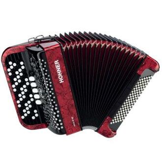 HOHNER《hona》Nova III 96 Red(紅)手風琴(按鈕鍵/kuromachikku)