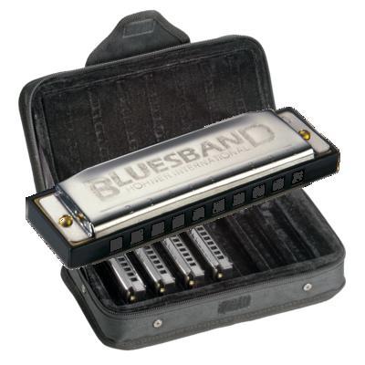 HOHNER 《ホーナー》 Blues Band Harmonica set 10ホールハーモニカセット