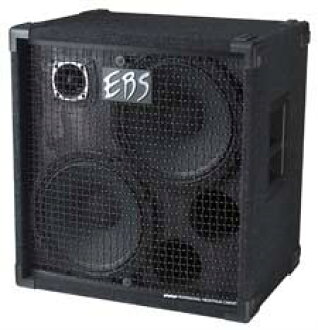 Speaker cabinet for the EBS E B S NeoLine 212 Neodymium Speaker Cabinet 12 X 2/Tweeter/600wRMS base amplifier