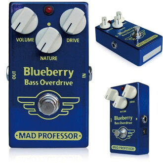 "MAD PROFESSOR ""mad Professor"" New series Blueberry Bass Overdrive for bass effects (Overdrive)"