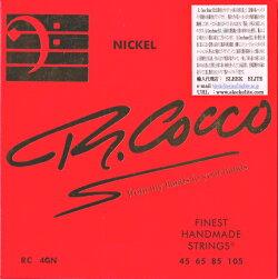 【即納&メール便可!】R.COCCOSTRINGSリチャードココ[RC4GN](45-105)SENIORELECTRICBASSSTRINGS456585105ベース弦