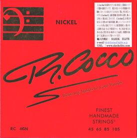 【即納&メール便可!】R.COCCO STRINGS リチャードココ [RC 4 GN] (45-105) SENIOR ELECTRIC BASS STRINGS 45 65 85 105 ベース弦