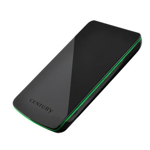【中古】【30日保証】《送料無料》1分BOX2.5 USB3.0 GREEN LINE CENTURY/センチュリー/ハードディスクケース[CGL25U3S6G]