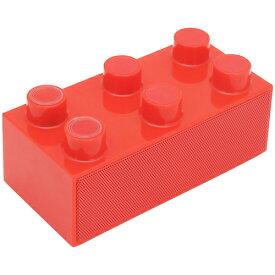 【旧型番/放出処分】《送料無料》次世代スマートフォンスピーカー BrickS【ブリックス】 レッド CENTURY/センチュリー[BRICKS-RD]