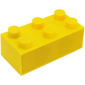 【旧型番/放出処分】《送料無料》次世代スマートフォンスピーカー BrickS【ブリックス】イエロー CENTURY/センチュリー[BRICKS-YL]