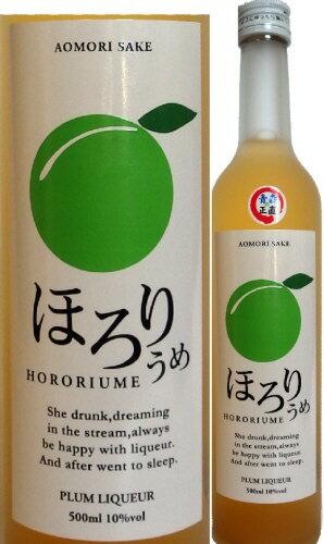 【青森県南部町産豊後梅を使用】六花酒造ほろりうめ500ml