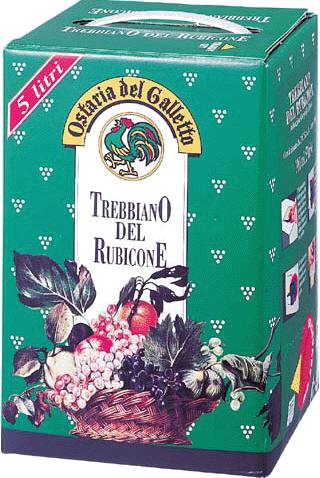 【大容量ワイン】【イタリア】アサヒオスタリア・デル ガレットトレビアーノ5Lバッグ・イン・ボックス