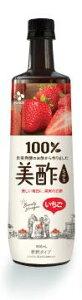 CJジャパン美酢ミチョいちご900ml