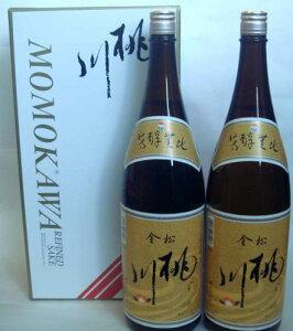 【専用化粧箱代無料】【青森の酒】【ギフト】桃川 金松1.8L×2本入