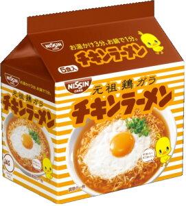 日清チキンラーメン1ケース5食×6袋