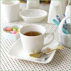 CPhome カップ&ソーサー あたたかなクリーム色のニューボン磁器 下皿付き コーヒーカップ 珈琲カップ 業務用 喫茶店 国産 瀬戸焼 訳あり