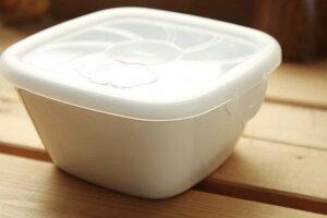 フタ付き角小鉢 保存に便利なフタ付きです 保存容器 蓋付き 冷蔵庫保存 梅干 便利 陶器 食器 シンプル おうちカフェ カフェ食器 定番商品 国産 美濃焼 訳あり