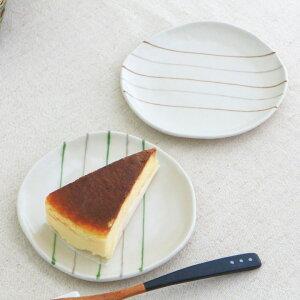 ヤーンライン 取り皿 15.5cm中皿 丸皿 平皿 ケーキ皿 プレート 丸 手書き 和風 高級感がある 職人 和食器 器 皿 陶器 磁器 おしゃれ かわいい 一人暮らし セラポッケ国産 美濃焼