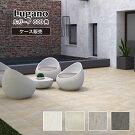 屋外床に最適なラフ面状の床タイル【ルガーノ600角全色ケース(3枚入)販売】