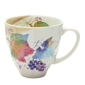 花つみマグカップぶどう(1個箱)【茶々彩々】