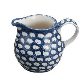 セラミカ(ツェラミカ)【ドヌーブ】ミルクピッチャー(0.2L)|ポーリッシュポタリー(ポーランド陶器・ボレスワヴィエツ(ブンツラウ)陶器・北欧・Ceramika Artystyczna)|セラミカ専用ボックス入り|※包装のしメッセージカード無料対応