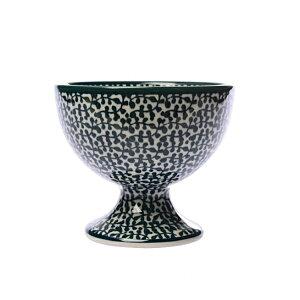 セラミカ(ツェラミカ)【フォーリアベルデ】アイスクリームカップ(11cm)|ポーリッシュポタリー(ポーランド陶器・ボレスワヴィエツ(ブンツラウ)陶器・北欧・Ceramika Artystyczna)|セラミカ