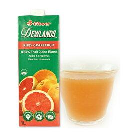 デューランド ルビーグレープフルーツジュース1L×1本[常温/全温度帯]【3〜4営業日以内に出荷】