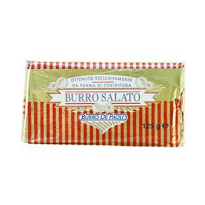 イタリア産 パオリ 有塩発酵バター ブーロサラート 125g[冷蔵/冷凍可]