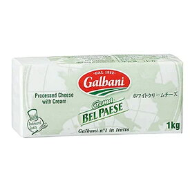ガルバーニ社ホワイトクリームチーズ1kg[冷蔵]【3〜4営業日以内に出荷】