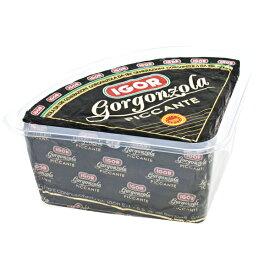 イゴール ゴルゴンゾーラ ピカンテ 約1.5kg(1.2-1.8kg前後)[賞味期限:2020年8月10日][冷蔵]【3〜4営業日以内に出荷】