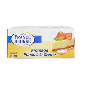 ソディアル社 フランス産クリームチーズ 1kg[賞味期限:2020年12月15日][冷蔵]【3〜4営業日以内に出荷】