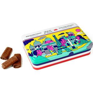 Le Chocolat des Francais(ル・ショコラ・デ・フランセ)モニュメント 90g(フレンチクリスピーウェハース)缶入[冷蔵]【3〜4営業日以内に出荷】