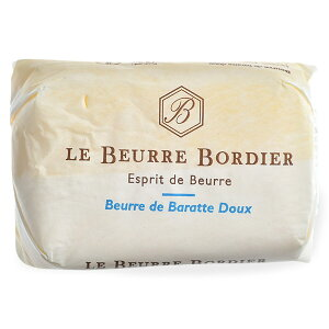 フランス産 ボルディエ[Bordier]バター 食塩不使用125g[賞味期限:2週間前後][冷蔵/冷凍可]