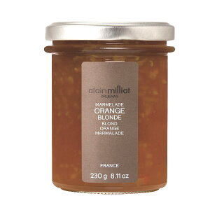 アラン・ミリア[alain millia]フランス産 オレンジマーマレード230g×1[常温/全温度帯可]【3〜4営業日以内に出荷】