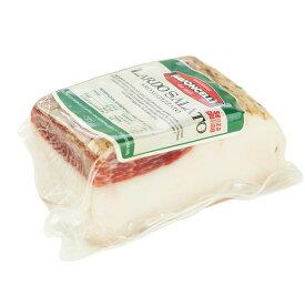 パヴォンチェッリ(PAVONCELLI) 塩漬けラルド 約350g[冷蔵/冷凍可]【3〜4営業日以内に出荷】