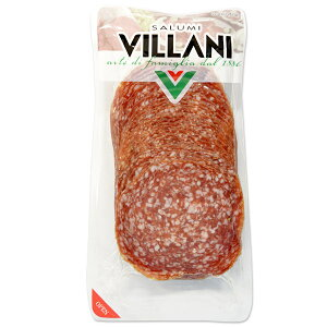 イタリア産 ビラーニ社 ミラノサラミ スライス200g[冷凍]【3〜4営業日以内に出荷】
