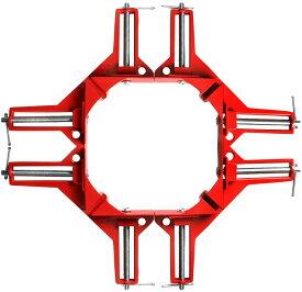 コーナークランプ 4個セット 90℃ DIY 定規 工具 万能 90度 測定 直角クランプ