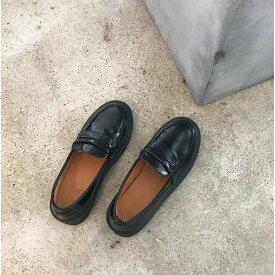 送料無料 学生用ローファー革靴 2カラー22.5〜24.5cm コスプレも通学 制服 コスプレも通学 ブラック、ブラウン