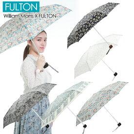 FULTON フルトン 折りたたみ傘 レディース傘 ウィリアムモリス コラボモデル ハンドバックサイズ 雨傘 WILLIAM MORRIS L713 Tiny-2