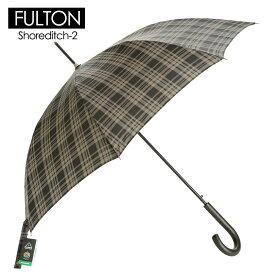 FULTON フルトン メンズ傘 雨傘 長傘 ペイン チェック F13-56 Window Pane Check G832 ワンタッチ ジャンプ傘 自動開き 英国王室御用達 イギリス王室