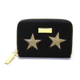 ステラマッカートニー STELLA McCARTNEY 431022 W8140 1000 スター 星型パッチワーク ジップ コインケース 小銭入れ Coin Purse Gold Stars
