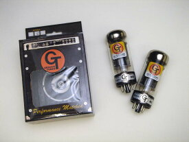 GT- 6L6CHP DT (マッチドペア) 2本 セット販売 Groove Tubes パワー管 真空管 ギターアンプ チューブ アンプギター GTスペシャルグレードアップバージョン ハイパフォーマンス グルーブチューブ 6L6GC 送料無料 あす楽