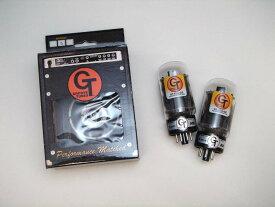 GT- 6L6GE DT (マッチドペア) 2本 セット販売 パワー管 グルーブチューブ 真空管 ギターアンプ チューブ アンプギター クリーンで粒立ちがいいハイグレードなサウンド 6L6管 ハイクラスのフェンダーアンプにお勧め Groove Tubes 6L6GC 送料無料 あす楽