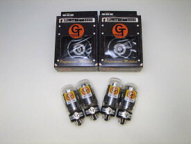GT- 6L6GE QT (マッチドカルテット) 4本 セット販売 パワー管 グルーブチューブ 真空管 ギターアンプ チューブ アンプギター クリーンで粒立ちがいいハイグレードなサウンド 6L6管 Groove Tubes 6L6GC 送料無料 あす楽