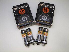 EL34M QT (マッチドカルテット) 4本 セット販売 Groove Tubes パワー管 中国製 真空管 ギターアンプ チューブ アンプギター グルーブチューブ ムラード ビンテージサウンド EL34 復刻版 ソフト 肌触りの優しい しっとり サウンド 送料無料 あす楽