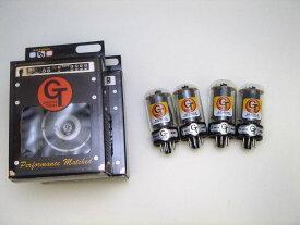 5881C QT (マッチドカルテット) 4本 セット販売 Groove Tubes パワー管 50-60年代初期 フェンダーツイード時代 ソフト 甘い サウンド 真空管 ギターアンプ チューブ アンプギター グルーブチューブ 送料無料 あす楽