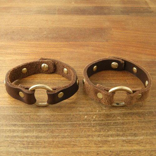 FERNAND LEATHER ORLAND w/Round Bracelet Studs
