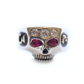 Flash Point JIMSKULL RING JOHNNY DEPP OLD STYLE/RUBY