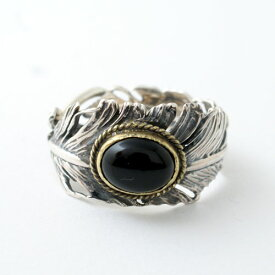 GARDEN OF EDEN CG別注 Feather Onyx Ring