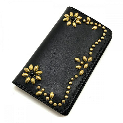 Crossed Arrows Flower Antique Dyed Leather iPHONE 6/6S-7/8-X CASE