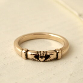 Vantique CLADDAGH RING-GOLD TAKERU SATOU MODEL