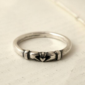 Vantique CLADDAGH RING-SILVER